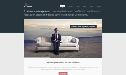 wiretree-free-website-psd-template