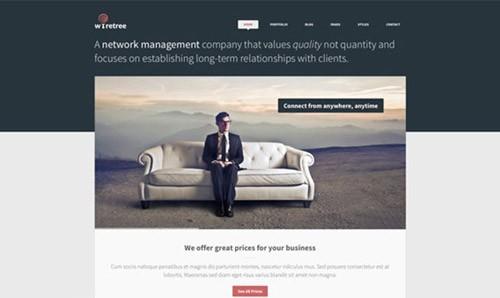 wiretree-free-website-psd-template