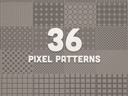 36_pixel_patterns_-_preview