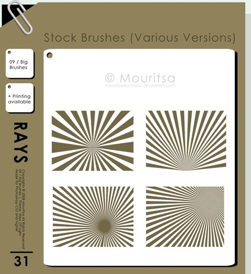 Brush_Pack___Rays_Of_Light_by_MouritsaDA_Stock