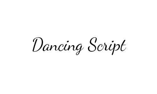 26-Dancing-Script