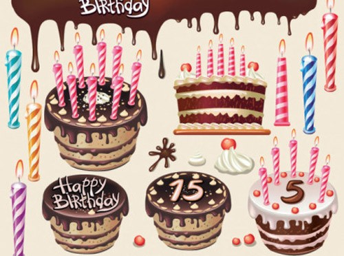 Beautiful-birthday-cake-vector-graphics-452x336