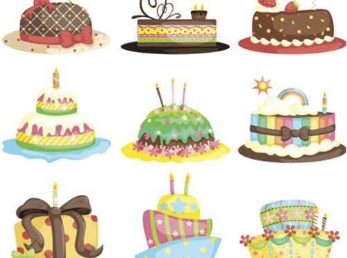 Cartoon-birthday-cake-vector-452x336
