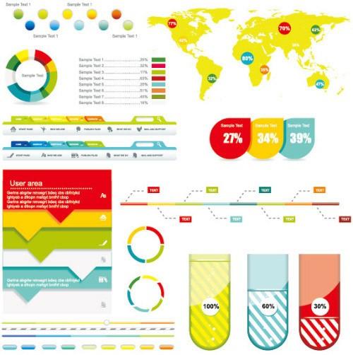 Economy-Infographics-Design-Elements-2