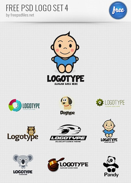 PSD-Logo-Design-Templates-Pack-4