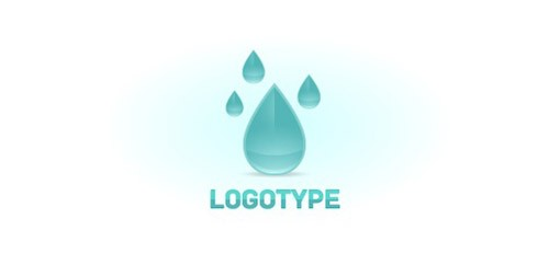 Raindrop-Logo-Design-Template