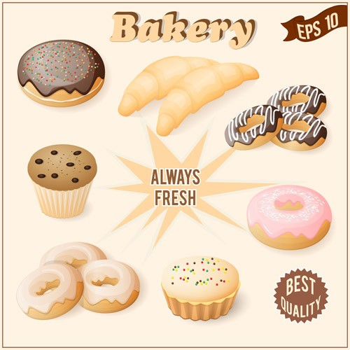 Realistic-bakery-with-cake-vector-graphic