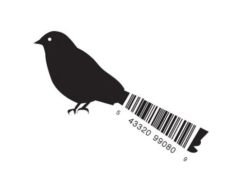 creative-bar-code-designs-bird