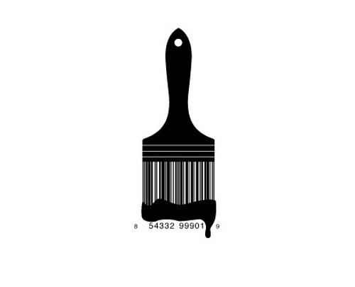 creative-bar-code-designs-brush