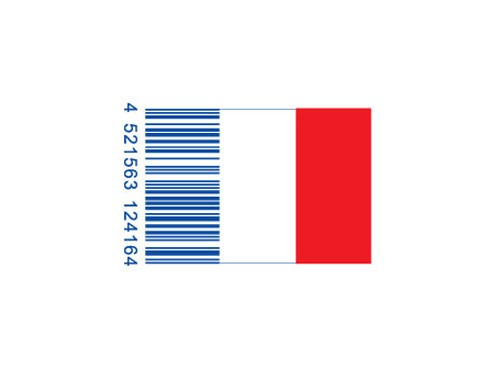 creative-bar-code-designs-franceflag
