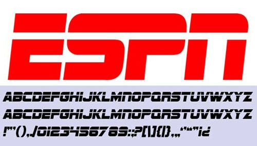 free-espn-font