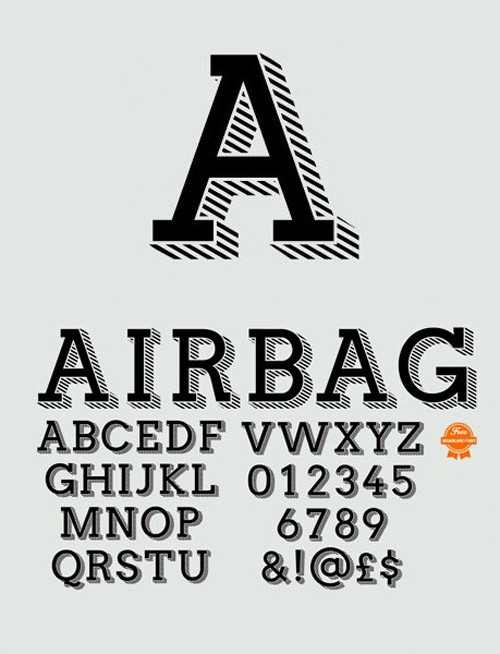 free-fonts-2014-airbag