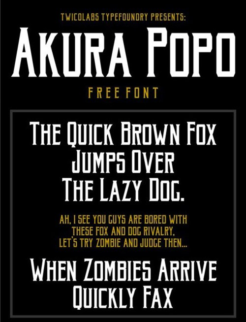 free-fonts-2014-akura