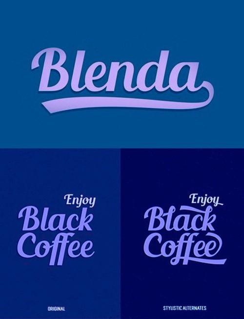 free-fonts-2014-blenda