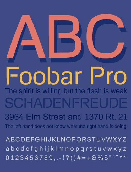 free-fonts-2014-foobarPro