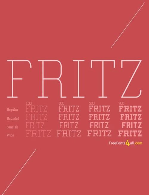 free-fonts-2014-fritz