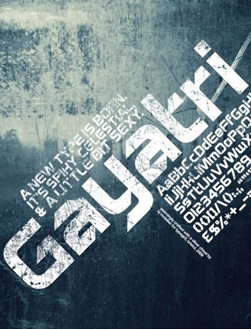free-fonts-2014-gayatri