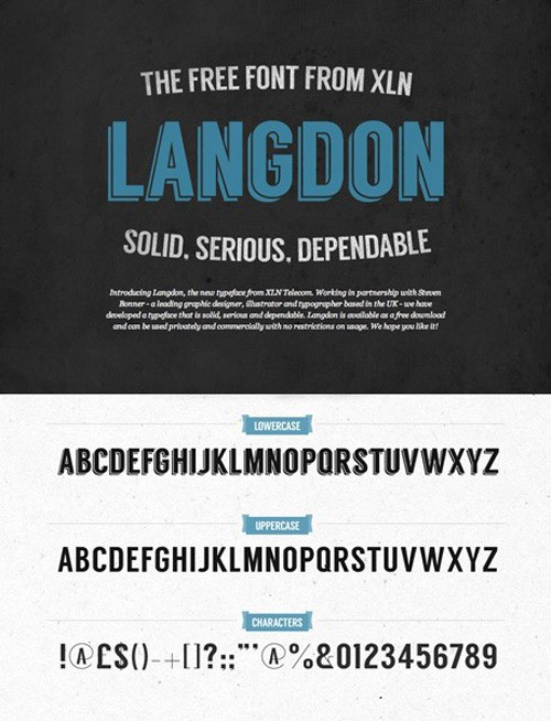 free-fonts-2014-langdon