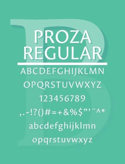 free-fonts-2014-proza