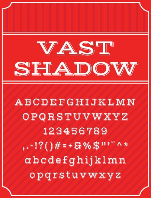 free-fonts-2014-vast-shadow