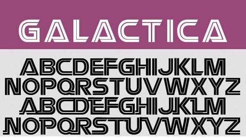 galactica-font