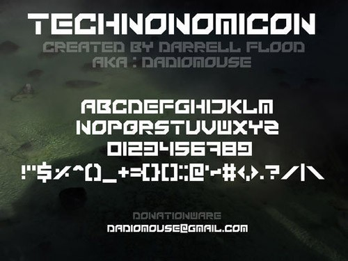 technoccififonts34