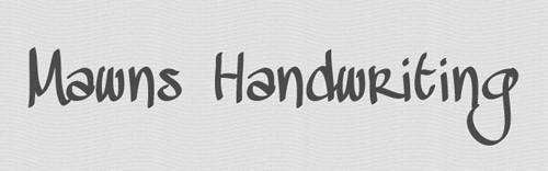 13_favorite_handwritten_fonts