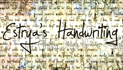 Estryas-Handwriting