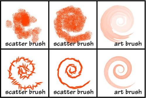 全部無料!Illustratorの無料ブラシセットpart2