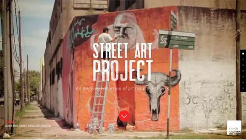 部屋にいながら世界中のストリートアートを楽しめる!Googleの「Street Art Project」始動