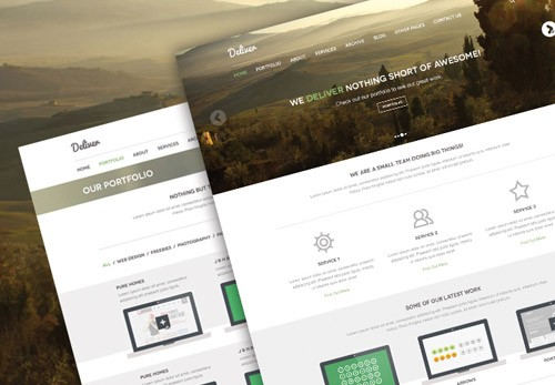 deliver-psd-theme-featured-image