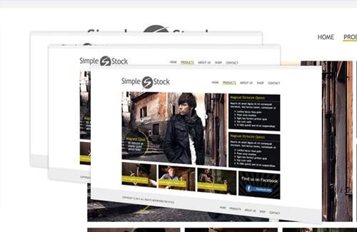 WEBデザインの勉強・参考に!プロがPhotoshopで作成したWEBサイト用無料PSDフリーテンプレート