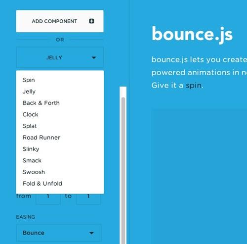 CSSアニメーションを簡単・思いのままに作成できてしまう「Bounce.js」