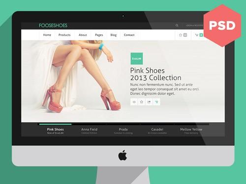 名だたるデザイナーが作成したフリーのWEBサイト用PSDファイルが無料!Dribble発Photoshop用サイトテンプレート