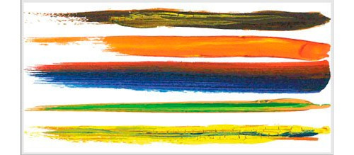 和の雰囲気にピッタリ!筆・絵筆のIllustrator用無料フリーブラシセット(総数)
