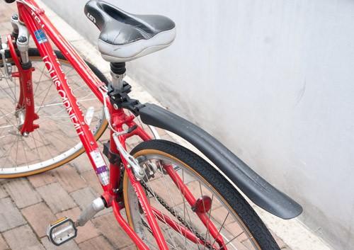 泥除け・リアフェンダーには取り付け・取り外しが簡単でしっかりしている「OGK クロスバイク用リアフェンダー MF-021R」がおすすめ