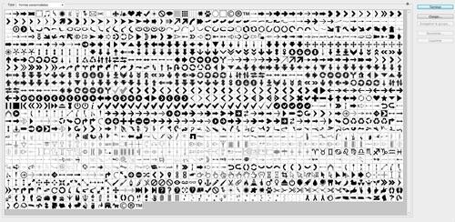 Photoshop用カスタムシェイプたっぷりパック(矢印/カーソル/シンボルなど)