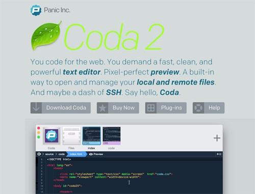 Macで人気のCoda2が現在、Coda2.5への無償アップグレードを実施中