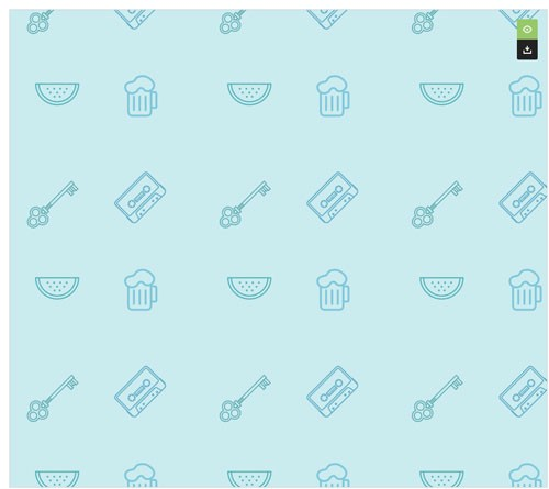 SVGベースのオリジナルなシームレスパターンを作ってダウンロードできる「Plain Pattern」