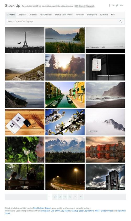 商用利用可能のハイクオリティな無料写真/画像が探しやすい「Stock Up」