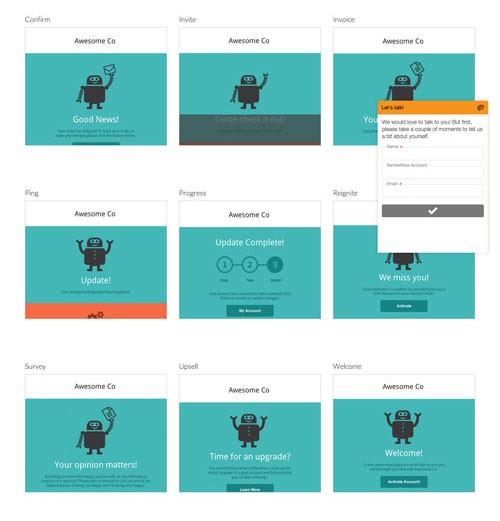 HTMLメールの無料テンプレートをお探しなら「無料で利用できるオープンソースなHTMLメールテンプレートコレクションサイト」