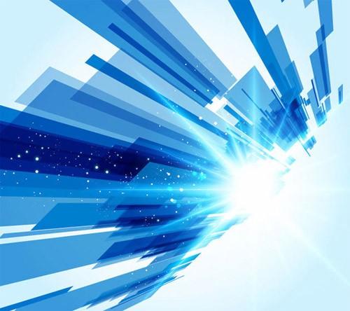 近未来的な無料のハイテクフリー背景素材(ベクター形式)