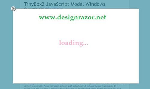 スタイリッシュなポップアップ/モーダルウインドウ用jQueryプラグイン53選
