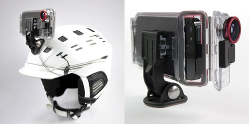 Optrix 防水・耐衝撃 アクションスポーツカメラケース