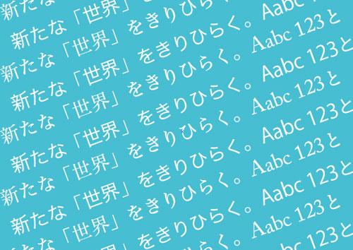 美しい日本語フォントの組み合わせ!少ないフォントでも美しいデザインが可能になる「AcuCaseProject」がすごい!