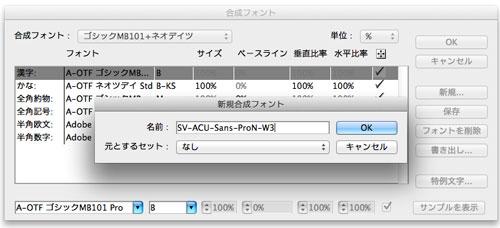 美しい日本語フォントの組み合わせ!「AcuCaseProject」がすごい!
