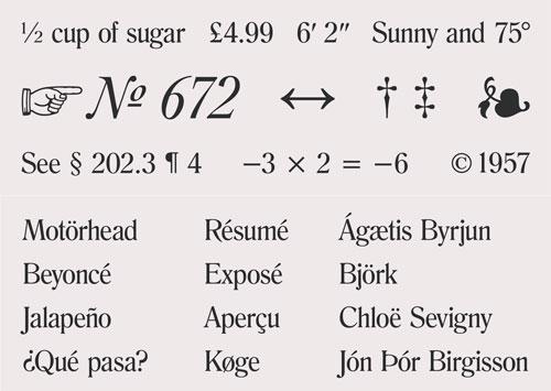 """†‡§¶''""""""""…•©®™¢入力できる?欧文/英語の特殊文字を入力するためのチートシート「Typography Cheatsheet」で悩みをスッキリ解消だ"""
