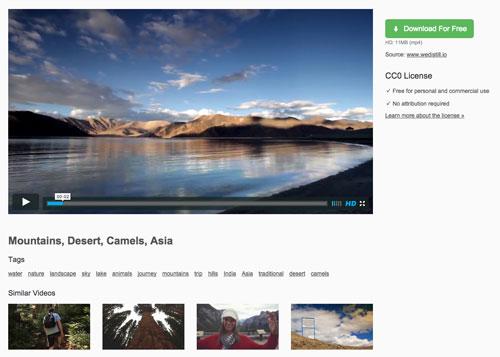 商用利用無料のフリー動画素材集「Pexels Videos」
