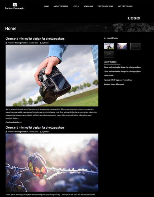 レスポンシブに対応したWordPress用テーマ90+(2014年ベストテーマ)