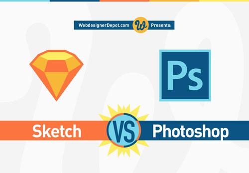SketchとPhotoshopの特徴がよくわかる比較表「Infographic: Sketch vs Photoshop」